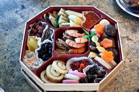 traditional dishes for new year japanese new year food wallpaper