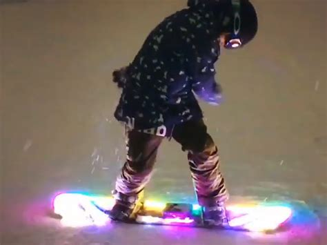 Good House Warming Gifts by Snowboard Led Lights Kit Illuminate Your Night Legit Gifts