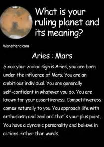 find out your ruling planet and its meaning aries mars