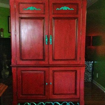 red tv armoire shop painted armoires on wanelo