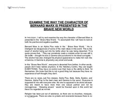Brave New World Essay Topics by Brave New World Essay Ideas