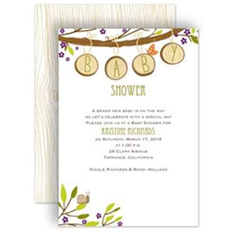 Nature Baby Shower by Baby Shower Invitations Invitations By