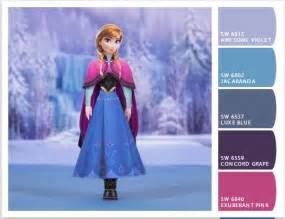 frozen paint colors disney and toddlers on