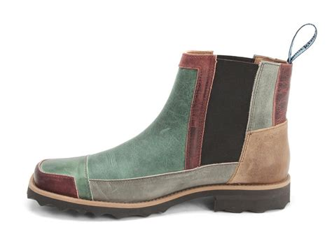 fluevog shoes shop intercooler green burgundy
