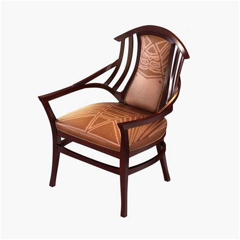 armchair designs oak upholstered bodenhausen armchair desig 3d model