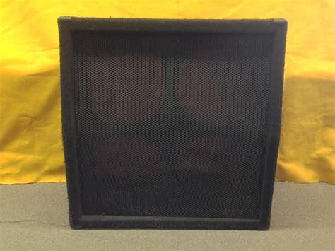 4x12 empty guitar speaker cabinet sonic empty 4x12 quot guitar speaker cabinet local pickup