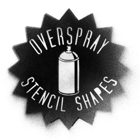 spray paint stencil font photoshop overspray stencil shapes thevectorlab