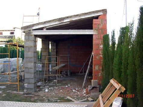 porches de obra construccion porche de obra con paellero y lavadero