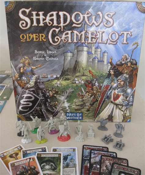 Shadows Camelot Board the board family shadows camelot a noble quest