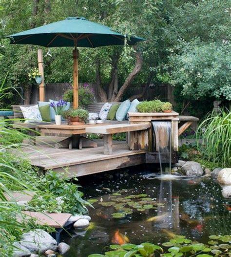 backyard bassin d 233 coration de jardin avec une fontaine pour bassin pond