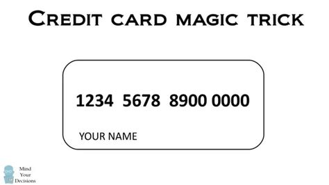 Secret Credit Card Letter A Secret Code In Credit Card Numbers