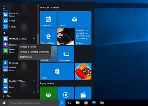 imagenes windows 10 inicio cinco cosas a realizar tras instalar windows 10
