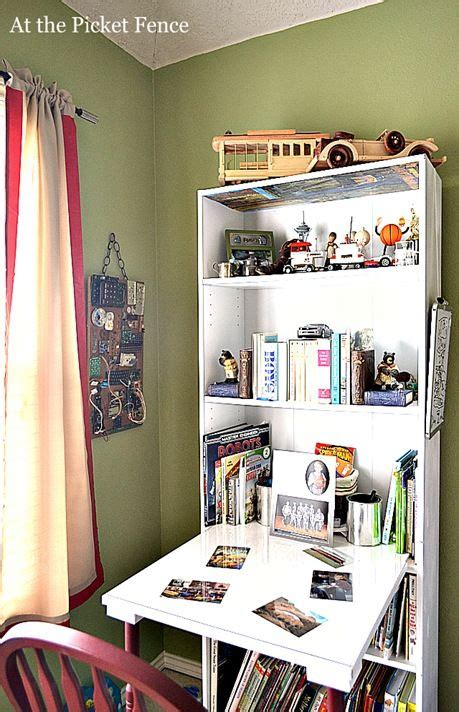 25 best ideas about bookshelf desk on