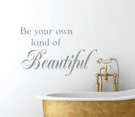 Bathroom decals bathroom decor wall decal be your by lucylews