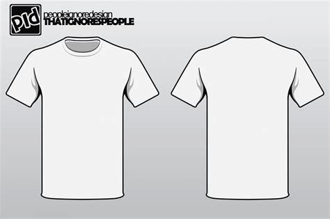 t shirt design template psd template design
