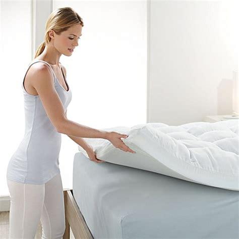 sopra materasso memory buy brookstone 174 biosense size memory foam mattress