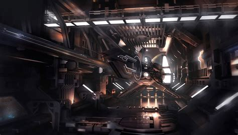 Ship Interior by Concept Ships Spaceships With Interiors By Encho Enchev