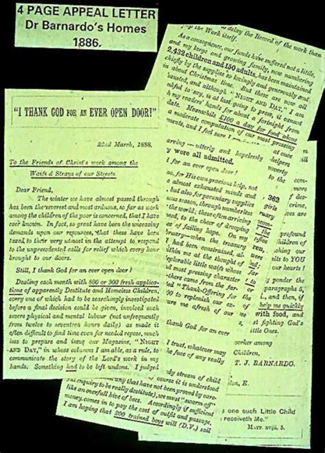 barnardo s charity letter the power of fundraising letters moceanic