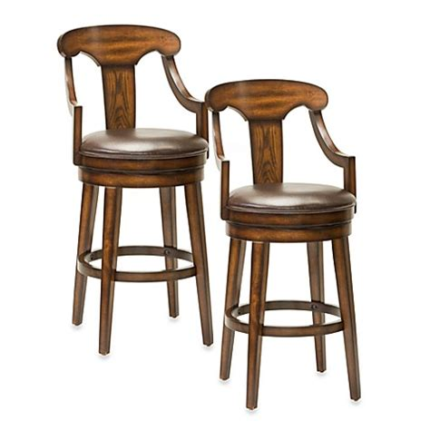 bed bath and beyond stools buy hillsdale upton swivel 30 inch barstool from bed bath beyond