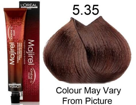 l oreal majirel hair color 5 6 5r ionene g incell permanent professional dye new ebay l oreal professional majirel 5 35 5gm permanent hair