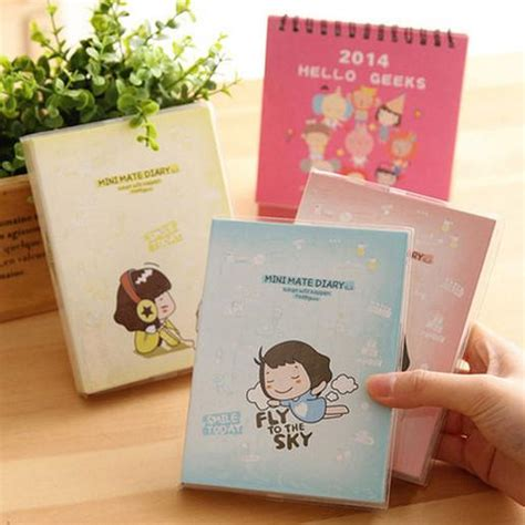 Mini Mate Diary kawaii color mini mate diary cook shop schedule planner notebook notepad monthly