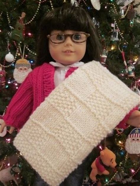 knit doll blanket major knitter free american doll blanket pattern