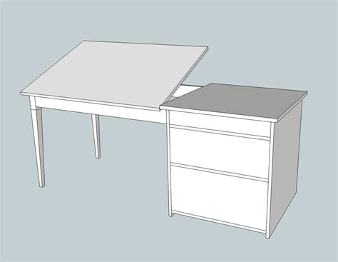 Diy Build Drafting Table Wooden Pdf Barrister Bookcases Plan Hold Drafting Table