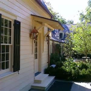 awning front or back door overhangs