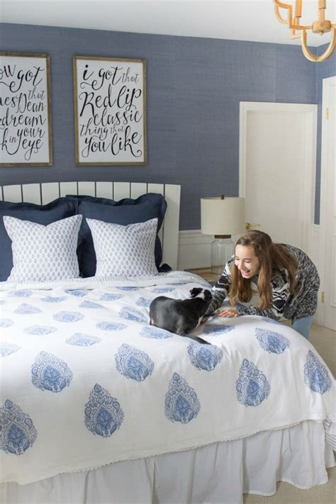 good colors for teenage girl bedroom modern coastal bedroom makeover reveal driven by decor