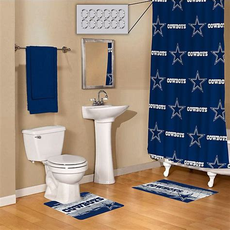 cowboy bathroom ideas dallas cowboys 15 bath set things i like