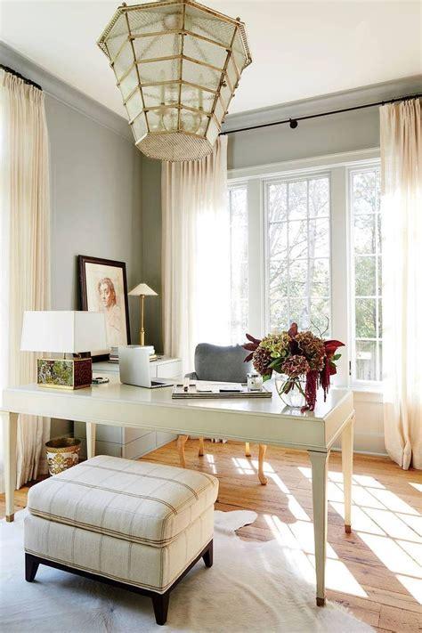 elegant  exquisite feminine home office design ideas