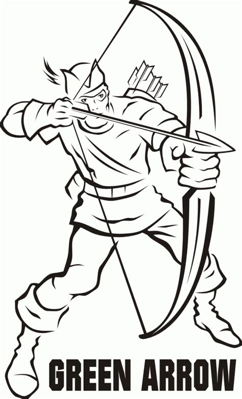 Green Arrow Coloring Pages Www Sihaty Comfree Coloring Green Coloring Pages