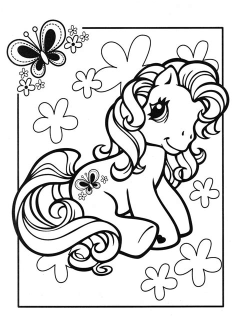 pony coloring page mlp scootaloo cool