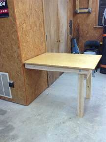 Diy Fold Table by Wilker Do S Diy Fold Workbench