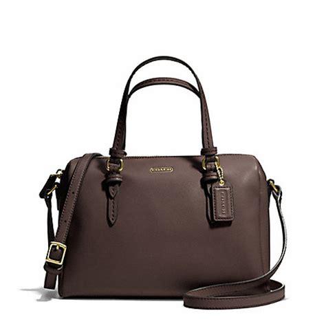 Coach Mini Bennet Signature Mahogani peyton mini satchel f50430 brass mahogany coach handbags satchels www