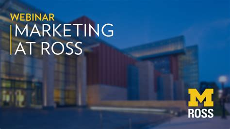 Michigan Ross Mba Visit by Careers In Marketing Michigan Ross