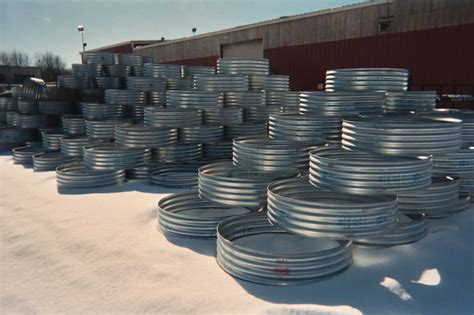 corrugated steel pit ring pit rings cadillac culvert inc