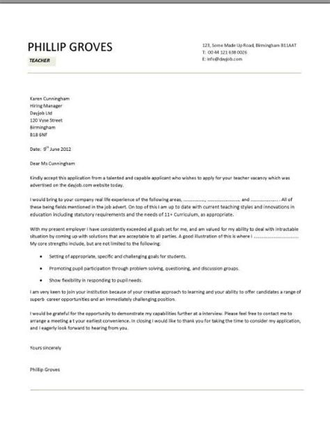 Teaching Assistant Cover Letter Uk Cv Template Lessons Pupils Teaching School Coursework
