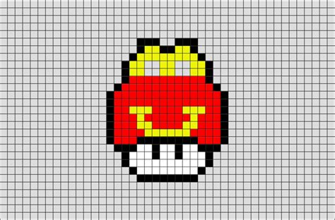 mushroom pixel art pictures to pin on pinterest pinsdaddy