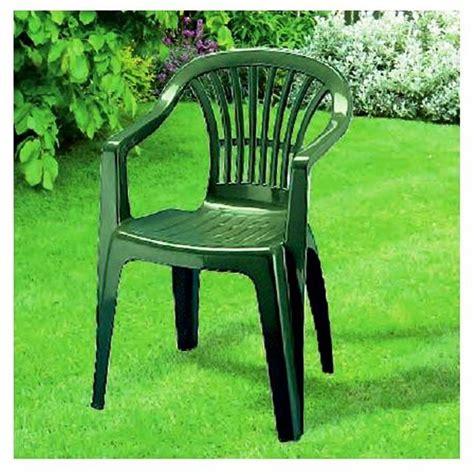 sedie giardino plastica sedia in plastica giardino con braccioli colore verde