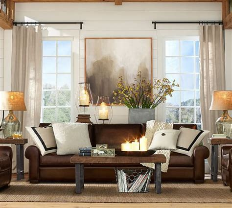 living room decor with brown leather sofa best 25 chocolate brown ideas on brown