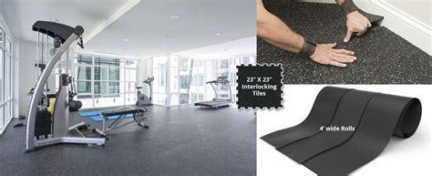 ECORE ATHLETIC RUBBER FLOORING   Bauer Sport Floors Inc.