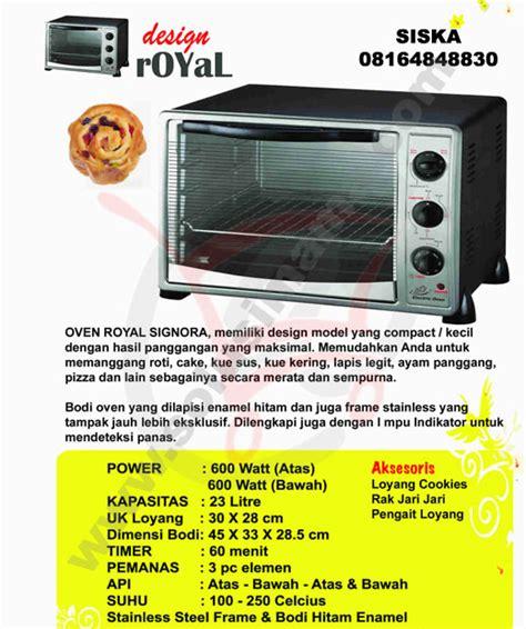 Oven Ukuran Besar solusi royal oven 23lt