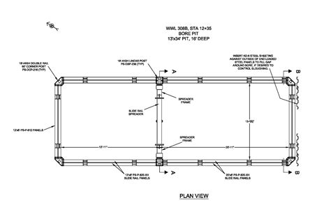 plan drawings trench safety engineering national trench safety