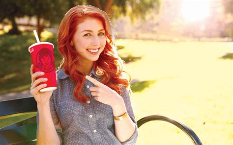 wendy s morgan smith goodwin wendys commercial www imgkid com