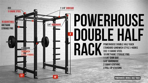Rack In The Usa by American Barbell Ech Half Rack Made In The Usa