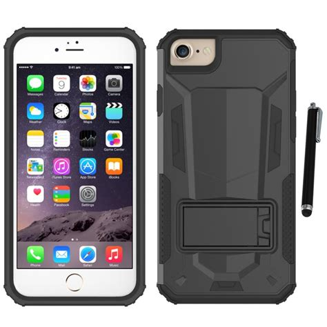 for iphone 7 4 7 zizo hybrid future armor phone stand stylus pen ebay
