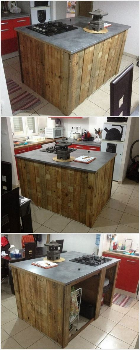 best 20 pallet kitchen island ideas on pallet island cave diy bar and