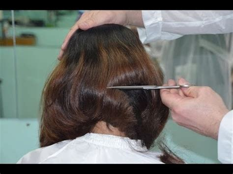 forced to get female hair style getting long hair buzzed off in a barbershop search