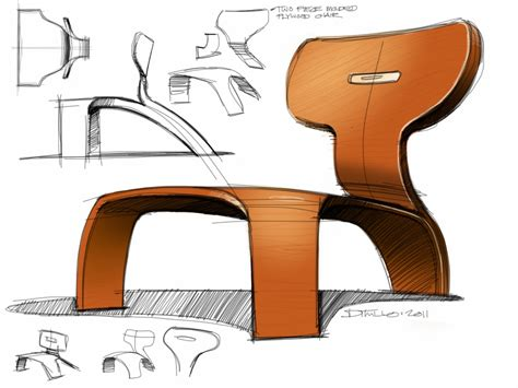 Industrial Arm Chair Design Ideas Sketches By Michael Ditullo At Coroflot